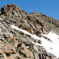 Summiting The Mount Massive Summit by Steve Krull