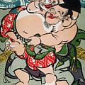 Sumo Wrestling by Granger