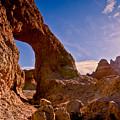 Sun And Arch by Rikk Flohr
