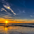 Sun And Surf by Marvin Spates