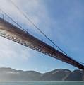 Sun Beams Through The Golden Gate by Scott Campbell