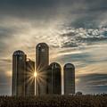 Sun Burst Silos by Travis Boyd