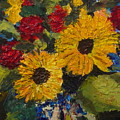 Sun Flowers by Jan Rapp
