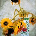 Sun Flowers No.1  by Minxiao Liu