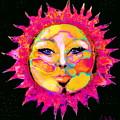 Sun Goddess She Sun by Expressionistart studio Priscilla Batzell
