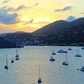 Sun Had Set In St. Thomas by Anita Hiltz