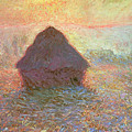 Sun In The Mist by Claude Monet