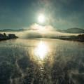 Sun O'er Missouri River by Todd Klassy
