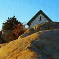Sun On Granite by Harriet Harding
