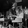 Sun Ra Arkestra At The Red Garter 1970 Nyc 38 by Lee Santa