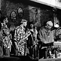 Sun Ra Arkestra At The Red Garter 1970 Nyc 4 by Lee Santa