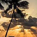 Sun Rays Over Islamorada by Karl Greeson