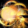 Sun Rings Spiral by Kim Sy Ok