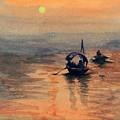 Sun Set by Anju Saran