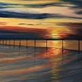 Sun Set At Seabridge by Heike Gramckow