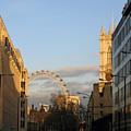 Sun Sets On London by Ann Horn