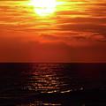 Sun Setting by D Hackett