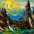 Sun Sin City by Mark Kazav