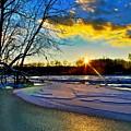 Sun Snow Ice by Robert Pearson