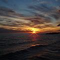 Sun Up by Bonfire Photography