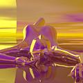 Sun Worship by Sandra Bauser Digital Art