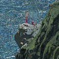 Sunbathers Cornwall by Kevin Collins