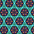Sunburst Star Flower Pattern by Becky Herrera