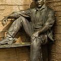 Sundance Kid Statue 5 by Tracy Knauer