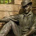 Sundance Kid Statue 6 by Tracy Knauer