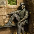 Sundance Kid Statue by Tracy Knauer