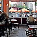 Sunday Afternoon At Dunkin Donuts by Sarah Loft