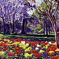 Sunday In The Park by David Lloyd Glover