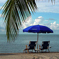 Sunday Morning At The Beach In Key West by Susanne Van Hulst