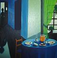 Sunday Morning Breakfast by Nancy Mueller