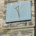 Sundial On St Mary's Church - Tutbury by Rod Johnson