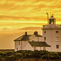 Sundown At The Lighthouse by Anthony Black