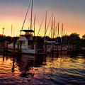 Sundown At The Marina 2 by Barry Craft