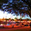 Sundown At The Marina by Barry Craft