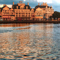 Sundown On The Boardwalk Walt Disney World by Thomas Woolworth