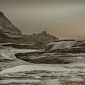 Sundown Over The Ocean Rocks by Don Schwartz