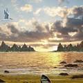 Sundown Seascape by Tony Rodriguez