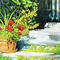 Sunfilled Steps 01 by Richard T Pranke