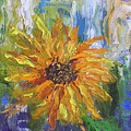 Sunflower Abstract by Barbara Harper