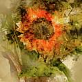 Sunflower Abstract by Robert Meyerson
