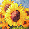 Sunflower Beauties by Natalie Rotman Cote