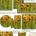 Sunflower Bloomies Decorator Collection by Carol Cavalaris