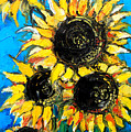 Sunflower Bouquet by Mona Edulesco