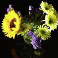 Sunflower Bouquet by Galina Alkhutova
