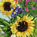 Sunflower Bouquet by Vicki Baun Barry