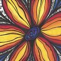 Sunflower Burst by Jenn Wilson